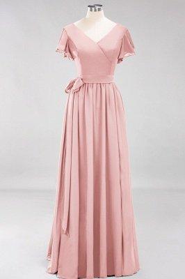Elegante Brautjungfernkleider Mit Schlitz   Schlichtes Brautjungfer Kleid Online Kaufen_6