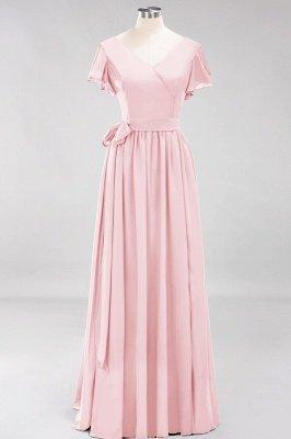 Elegante Brautjungfernkleider Mit Schlitz   Schlichtes Brautjungfer Kleid Online Kaufen_3