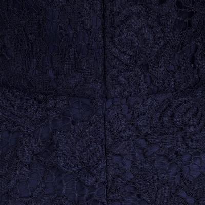 Gaine sans manches gaine asymétrique robes de dentelle Bourgogne_11