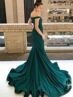 Элегантные платья выпускного вечера аппликация на одно плечо | Вечерние платья с разрезом и длинными рукавами с поясом_3