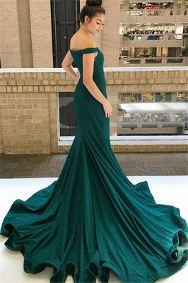 Grünes Abendkleid | Abendkleider Lang Mit Glitzer_4
