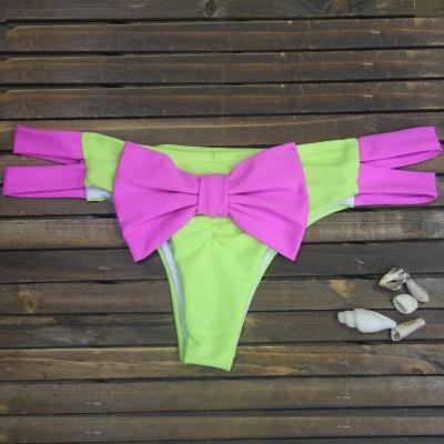 Bowknot Swims kurze Bikinihose_2