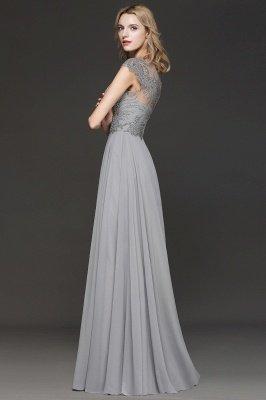 Crystal Appliques Sweetheart Side Slit Prom Dresses | Backless Capsleeves Evening Dresses_3