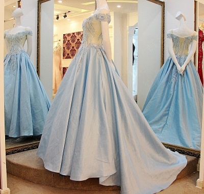 Exquisite Sweetheart Sleeveless Appliques Sweep Train Quinceanera Dresses_4