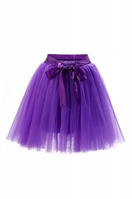 Amazing Tüll Short Mini Ballkleid Röcke | Elastische Damenröcke_17