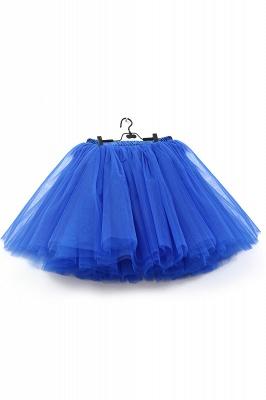 Amazing Tüll Short Mini Ballkleid Röcke | Elastische Damenröcke_11