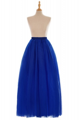 Glamorous A-line Floor-Length Skirt | Elastic Women's Skirts_13