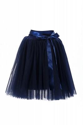 Amazing Tulle Short Mini Ball-Gown Skirts | Elastic Women's Skirts_12