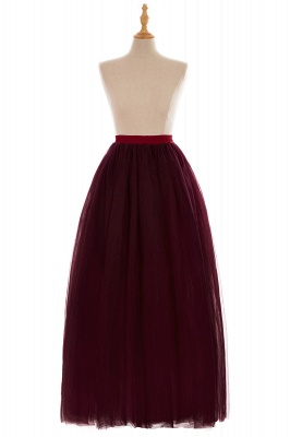 Glamorous A-line Floor-Length Skirt | Elastic Women's Skirts_18
