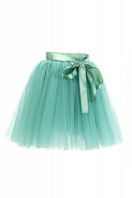 Amazing Tulle Short Mini Ball-Gown Skirts | Elastic Women's Skirts_16