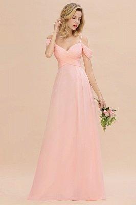 Фантазийные ремни спагетти Милая оборками платье для подружки невесты_5