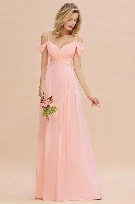 Фантазийные ремни спагетти Милая оборками платье для подружки невесты_4