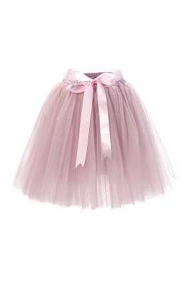 Amazing Tulle Short Mini Ball-Gown Skirts | Elastic Women's Skirts_1