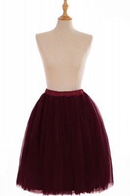 Nifty Short A-line Mini Skirts   Elastic Women's Skirts_7