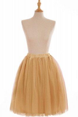 Nifty Short A-line Mini Skirts   Elastic Women's Skirts_10