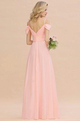 Фантазийные ремни спагетти Милая оборками платье для подружки невесты_3