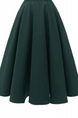 Vintage Kleider 50er Jahre Mit Trägern | Retro 50er Jahre Kleid Weinrot_13