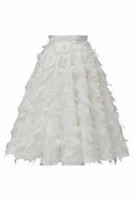 Elegant Halter Feather Princess Vintage Dresses | Retro A-line Burgundy Homecoming Dress_21