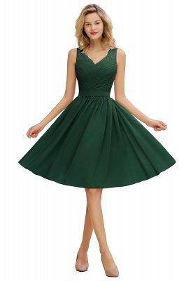 Кружевное длинное короткое платье с V-образным вырезом с поясом | Сексуальное коктейльное платье без рукавов с V-образным вырезом без рукавов_4