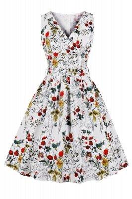 Alluring V-neck Belted Fashion Dresses | Knee-Length Women's Dresses