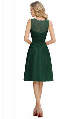 Кружевное длинное короткое платье с V-образным вырезом с поясом | Сексуальное коктейльное платье без рукавов с V-образным вырезом без рукавов_18