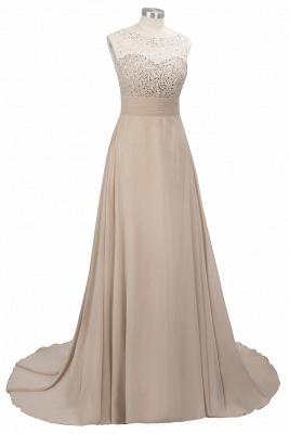 Purple Elegant SLNY Rhinestone Embellished  Backless Pleats Long Evening Dress_8