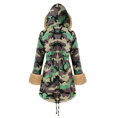 Electric Army Green Faux Fur Chubby Jacket | Superstar Faux Fur Coat in Burgundy/Black/Gray Shawl Collar_36