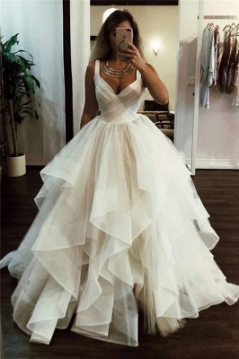 Lace Straps Ball Gowns | Chic Formal Dresses_1