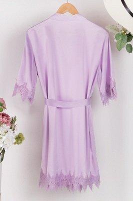 Lace Bridal Robe / Bridesmaid Robes / Robe / Bridal Robe / Bride Robe / Bridal Party Robes / Bridesmaid Gifts / Satin Robe_9