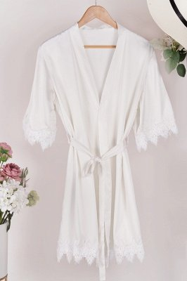Lace Bridal Robe / Bridesmaid Robes / Robe / Bridal Robe / Bride Robe / Bridal Party Robes / Bridesmaid Gifts / Satin Robe