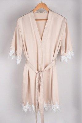 Lace Bridal Robe / Bridesmaid Robes / Robe / Bridal Robe / Bride Robe / Bridal Party Robes / Bridesmaid Gifts / Satin Robe_49