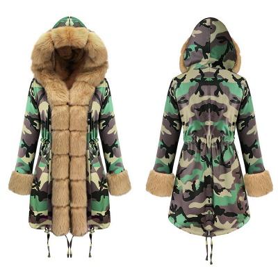 Electric Army Green Faux Fur Chubby Jacket | Superstar Faux Fur Coat in Burgundy/Black/Gray Shawl Collar_13