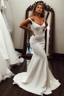 Off-the-shoulder Mermaid Evening Dresses | Pure Formal Gowns