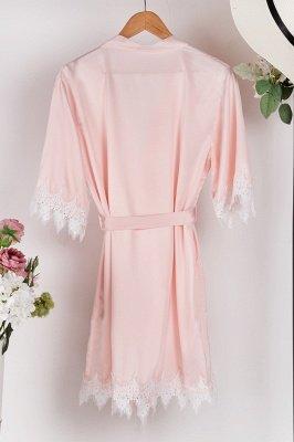 Lace Bridal Robe / Bridesmaid Robes / Robe / Bridal Robe / Bride Robe / Bridal Party Robes / Bridesmaid Gifts / Satin Robe_2