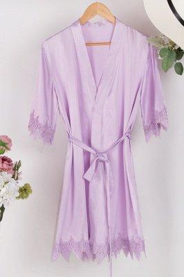 Lace Bridal Robe / Bridesmaid Robes / Robe / Bridal Robe / Bride Robe / Bridal Party Robes / Bridesmaid Gifts / Satin Robe_51