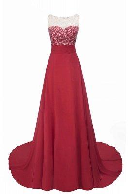 SLNY Rhinestone Embellished  Backless Evening Dress CLEARANCE SALE & FREE SHIPPING_7