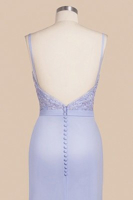 Cady | Spaghetti Strap Sweetheart Mermaid Prom Dress, Sexy Fitting Evening Gown with Belt_8