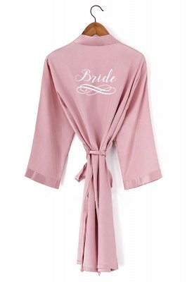 Dryden | Personalized Sleepwear HOT Women Short floral Robe Bridal Wedding Bride Bridesmaid Dressing Gown