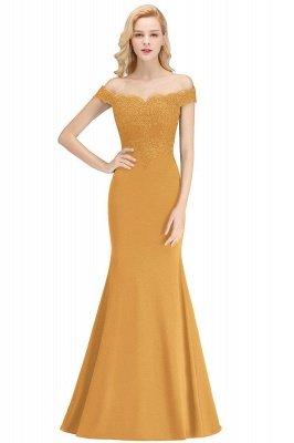 Elegante Brautjungfernkleider Dunkelgrün Online Kaufen | Günstige Brautjungferkleider Mit Applikationnen_9