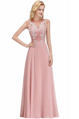 Cap Sleeve Lace Appliques Beads Slim A-line Evening Prom Dress for Women_5
