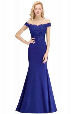Elegante Brautjungfernkleider Dunkelgrün Online Kaufen | Günstige Brautjungferkleider Mit Applikationnen_5