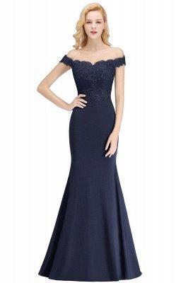 Elegante Brautjungfernkleider Dunkelgrün Online Kaufen | Günstige Brautjungferkleider Mit Applikationnen_6
