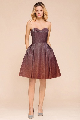 Arleen | Cute Sweetheart Sparkle Sequined Homecoming Dress_4