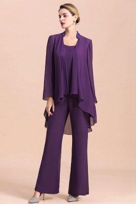 Пурпурный комбинезон без рукавов для матери горничной с жакетом