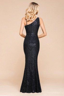 Черное платье для выпускного с блестками и блестками_3