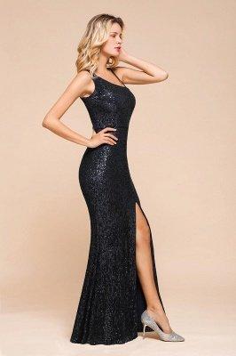 Черное платье для выпускного с блестками и блестками_4