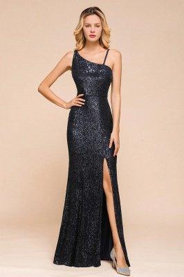 Черное платье для выпускного с блестками и блестками_1