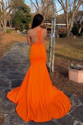 Voir à travers les robes de bal sirène sans manches_2