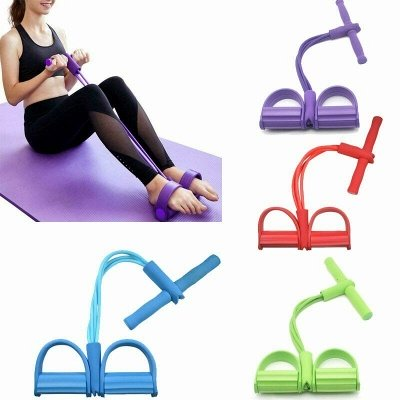 Resistanc Elastic Pull Ropes Exerciser Rower Belly Resistance Band Home Gym Sport Training Elastic Bands For Fitness Equipment