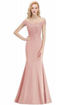 Elegante Brautjungfernkleider Dunkelgrün Online Kaufen | Günstige Brautjungferkleider Mit Applikationnen_3